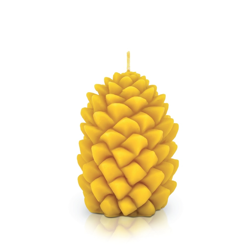 Bougie - Grande pomme de pin