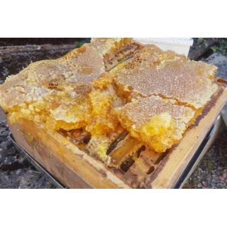 Cire d'abeille du rucher
